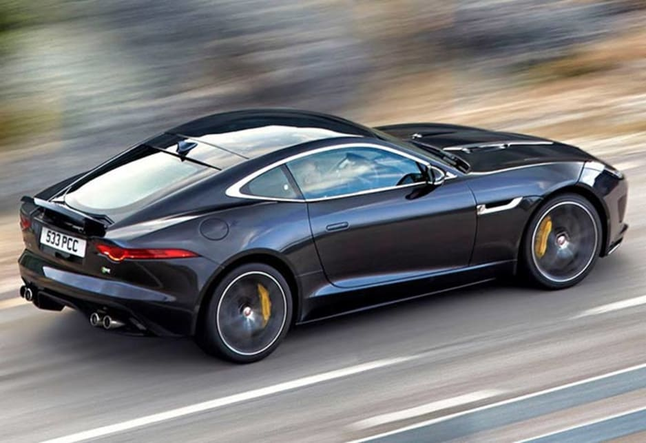 Jaguar F Type Coupe Revealed