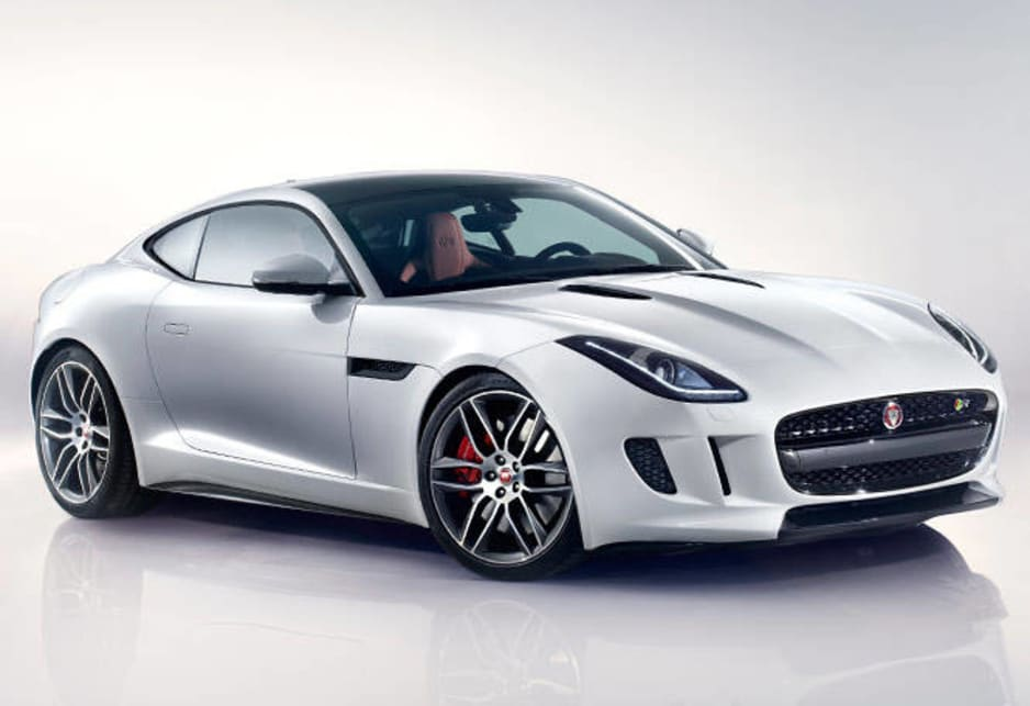 ... Jaguar F Type Coupe Revealed