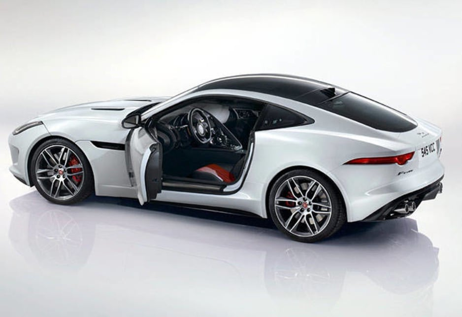 Superb Jaguar F Type Coupe Revealed