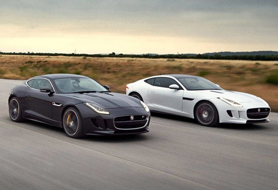 Jaguar F-Type Coupe revealed