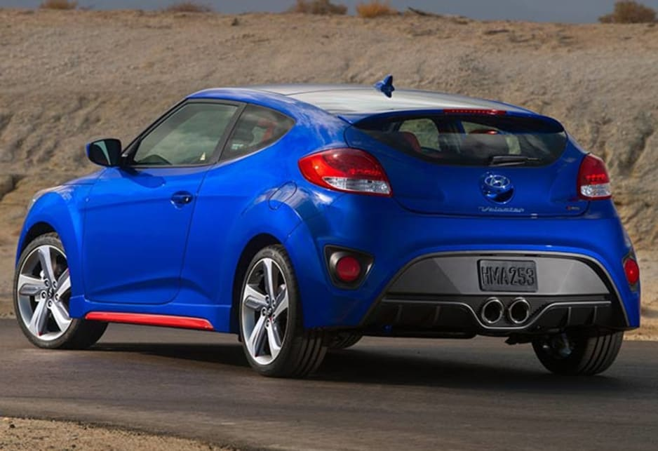 Hyundai reveals Veloster Turbo RSpec  Car News  CarsGuide