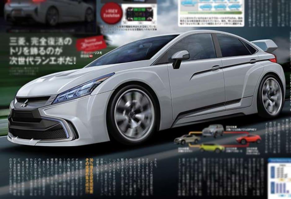 Mitsubishi Evo XI will be mean and green - Car News ...