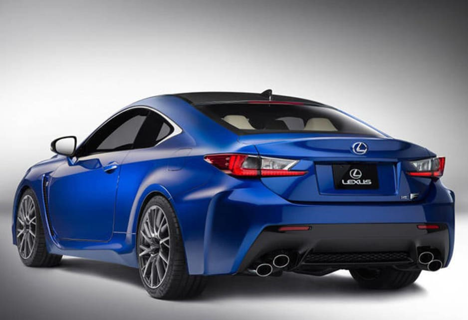2014 Lexus RC F gets nd's most powerful V8 - Car News | CarsGuide