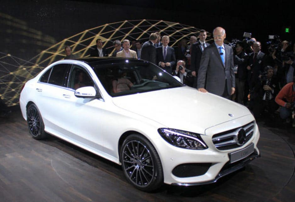 2015 Mercedes CClass unveiled  Car News  CarsGuide