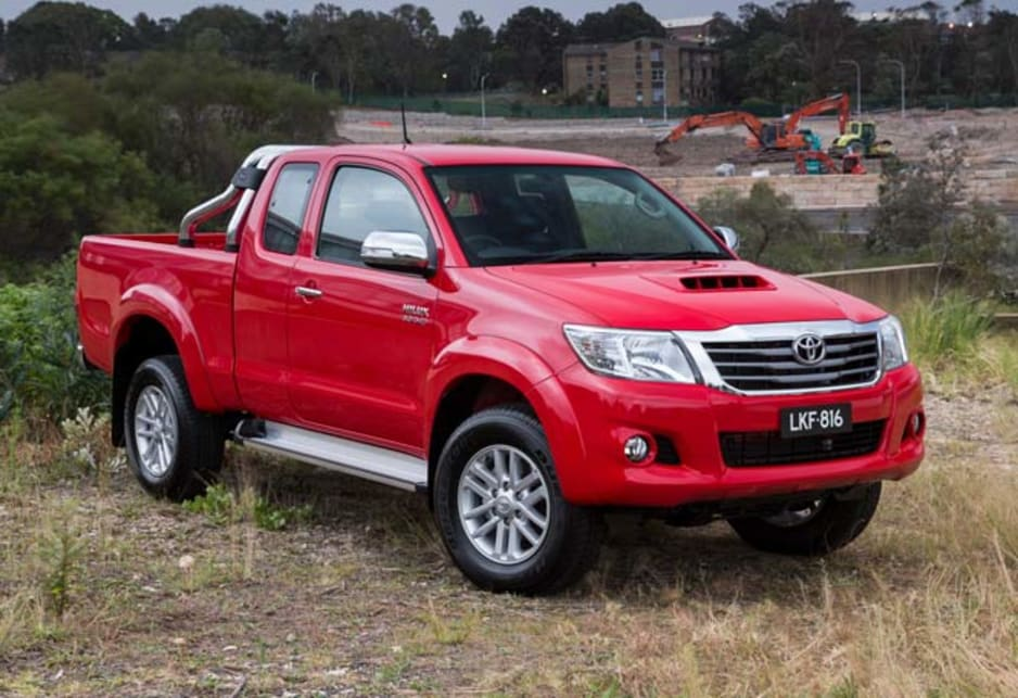 2014 toyota hilux new car sales price car news carsguide. Black Bedroom Furniture Sets. Home Design Ideas