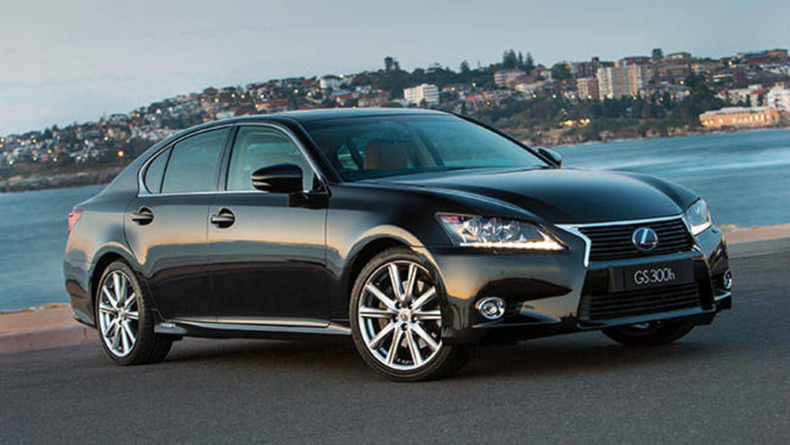 The GS is the larger of the Lexus sports sedans and one step up from its popular IS the 3 Series competitor.