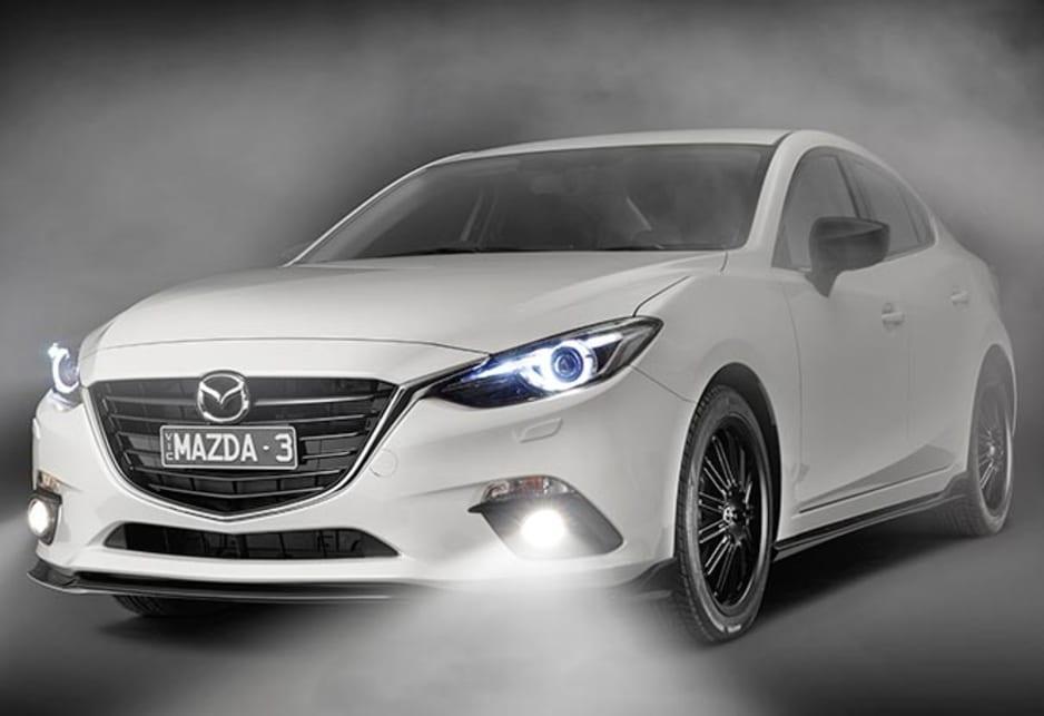 Mazda 3 kuroi sports pack