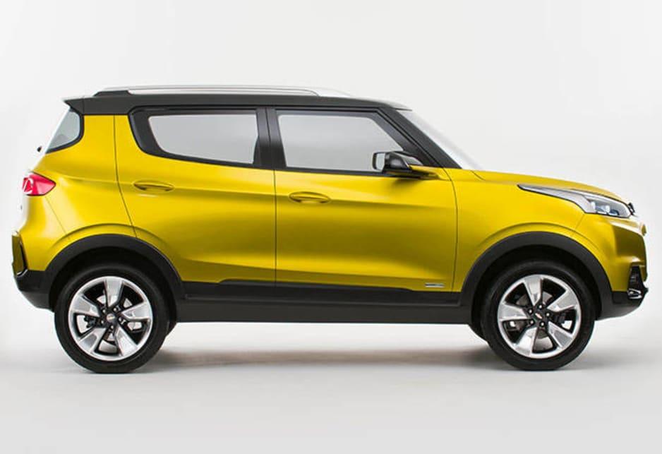 Holden Builds Chevrolet Adra Suv Concept Car News