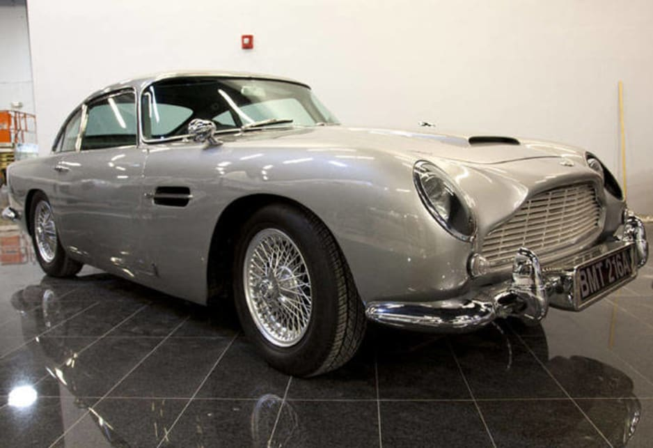 Aston Martin DB5 coupe.