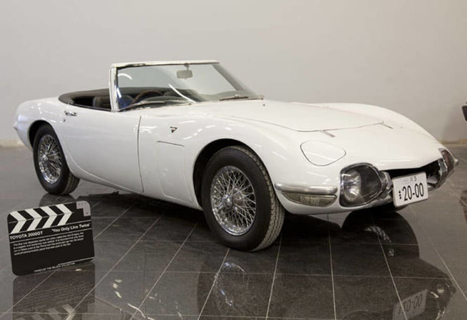 Toyota 2000GT from You Only Live Twice.
