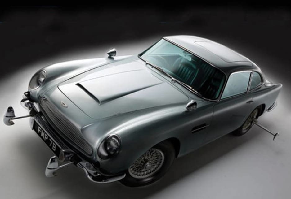 There are a brace of Aston Martin DB5 coupes.