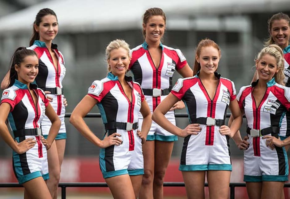 The Clipsal 500 Adelaide Grid Girls will be turning heads on the track in 2014.
