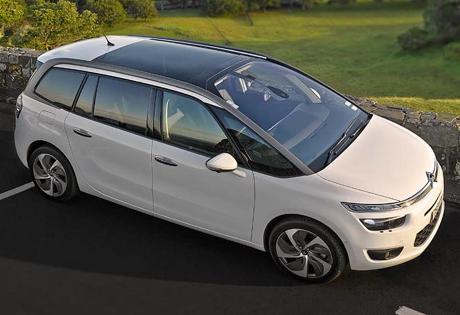 citroen c4 grand picasso exclusive 2014 review carsguide. Black Bedroom Furniture Sets. Home Design Ideas