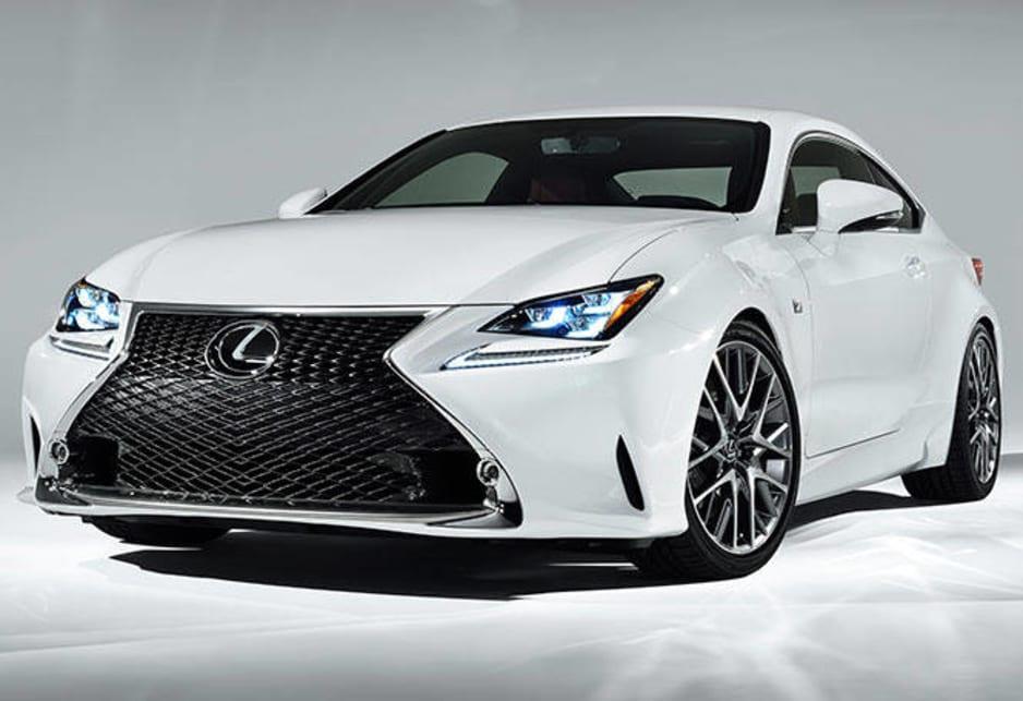 2018 Hyundai Santa Fe Sport >> 2014 Lexus RC 350 F Sport revealed - Car News | CarsGuide