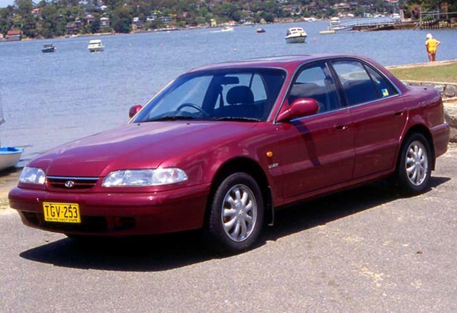 Elegant 1993 Hyundai Sonata.
