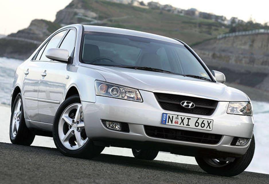 2005 Hyundai Sonata.