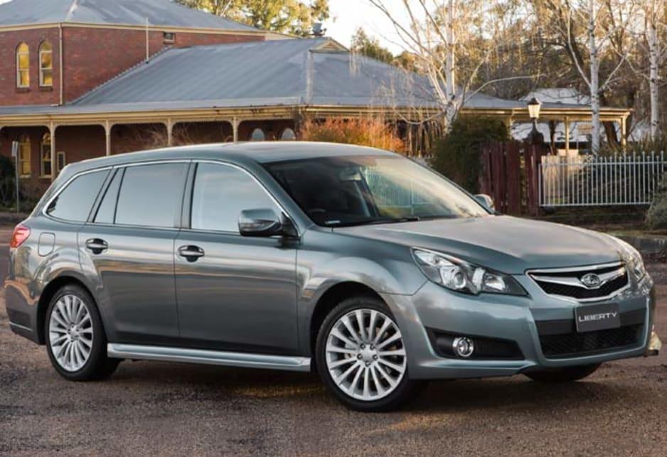 Subaru Liberty Wagon Review Auto Cars