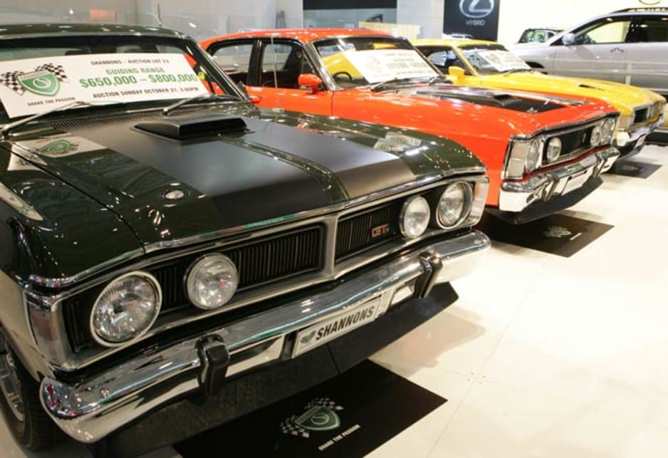1971 Ford Falcon GTHO Phase III (Left)