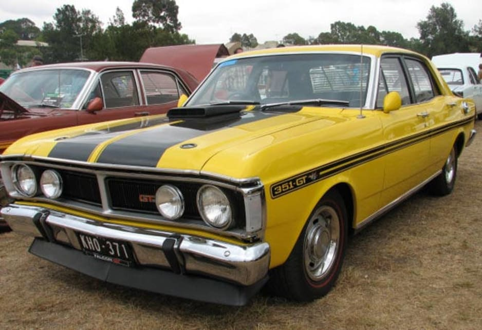 Ford Falcon Gtho Picture Courtesy Of Kamal Chatila