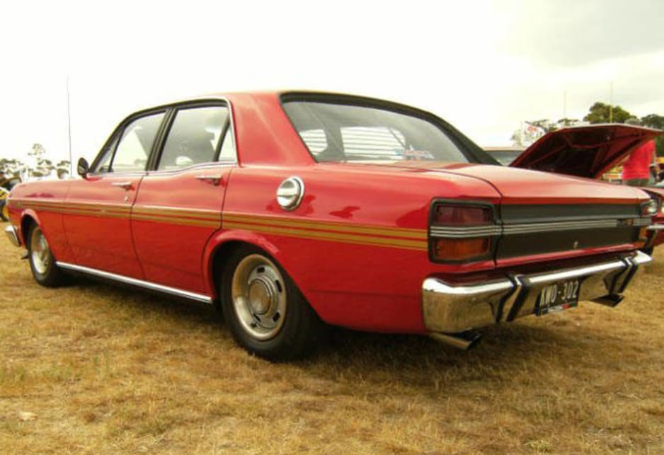 Ford Falcon GTHO (picture courtesy of Kamal Chatila)