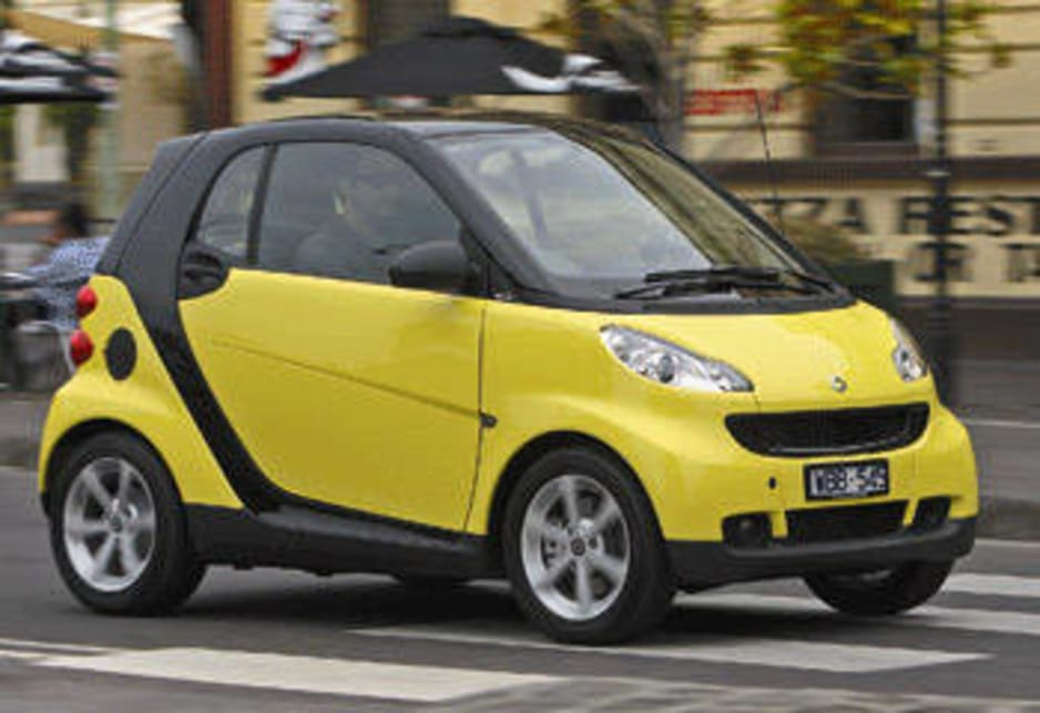 smart fortwo 2008 review road test carsguide. Black Bedroom Furniture Sets. Home Design Ideas