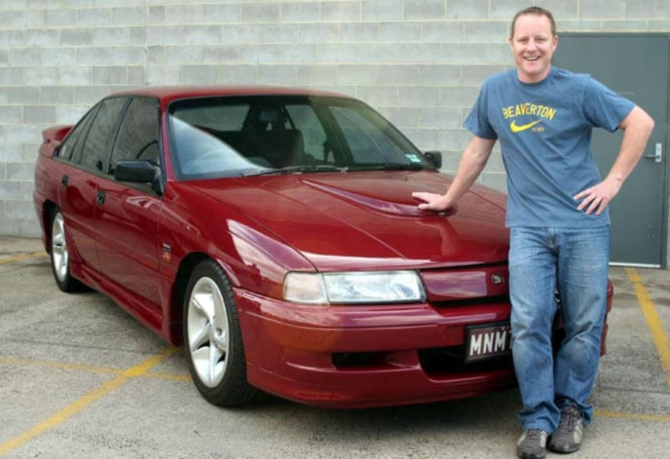 Proud owner Jamie Boatwood with his VN SS Group A Commodore