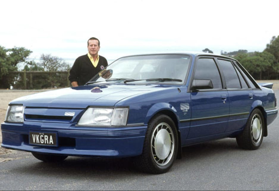 Proud ownder Graeme Monk with his 1985 HDT VK Commodore SS Group A