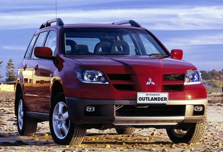 used mitsubishi outlander review 2003 2004 carsguide. Black Bedroom Furniture Sets. Home Design Ideas