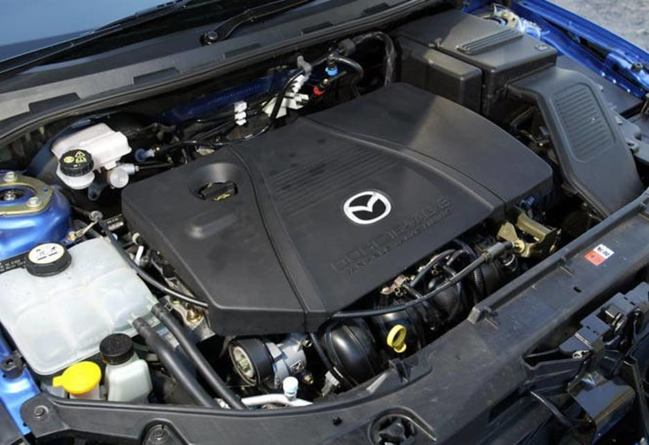 Mazda 3 sp23 engine