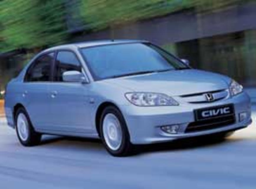 Honda Civic Hybrid 2004 Review