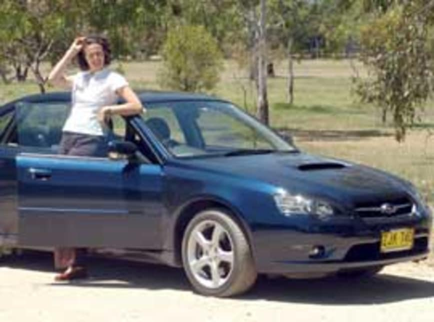 Subaru liberty gt 2004
