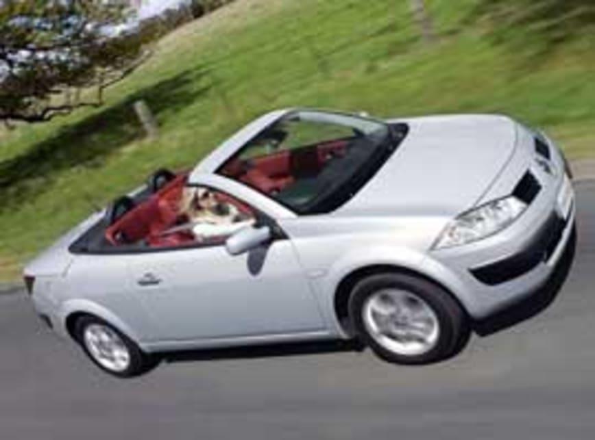 2005 renault megane convertible