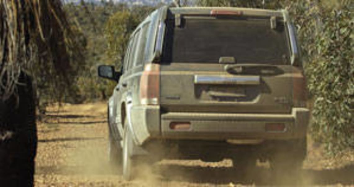 Jeep Commander 2006 Review: Road Test