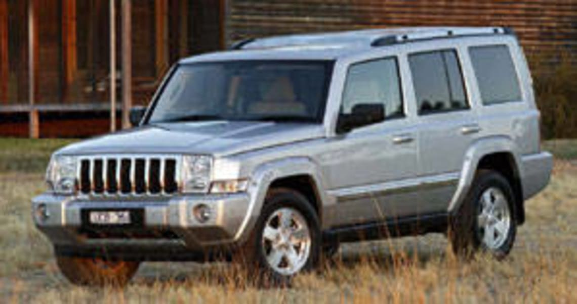 Jeep Commander Limited 2006 Review