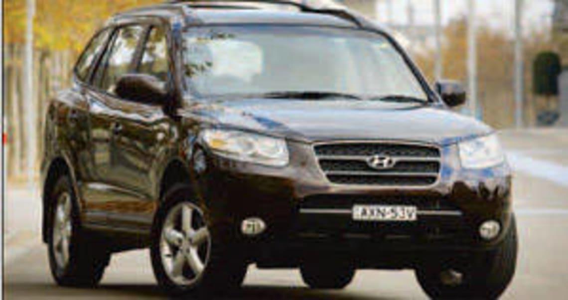 Hyundai Santa Fe SLX CRDi 2007 Review
