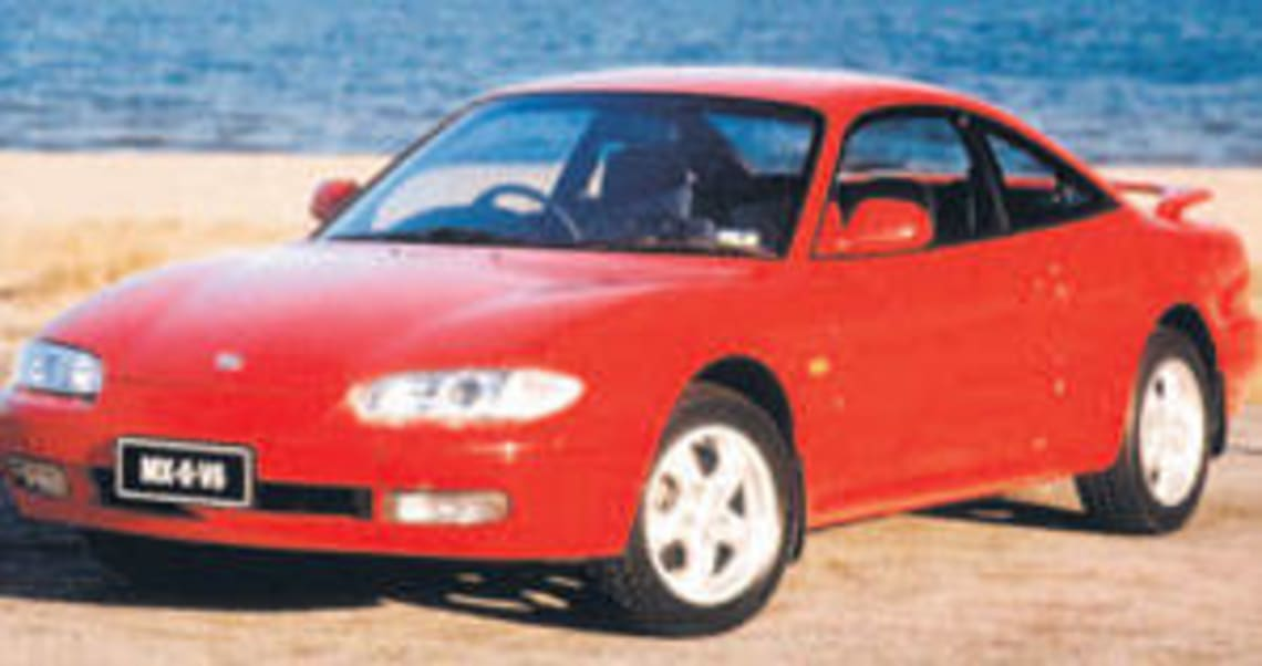 1994 mazda mx6 2ws ge manual coupe