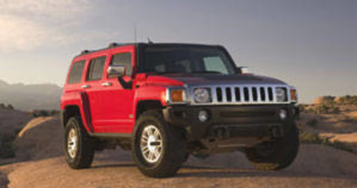 Hummer H3 2007 review
