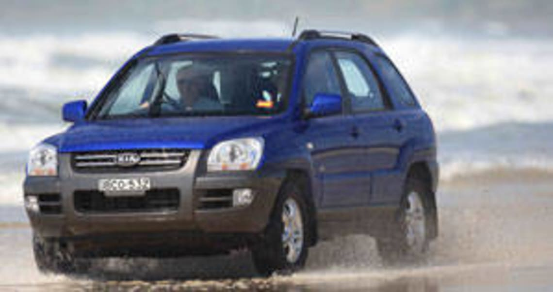 Kia Sportage 2007 Review