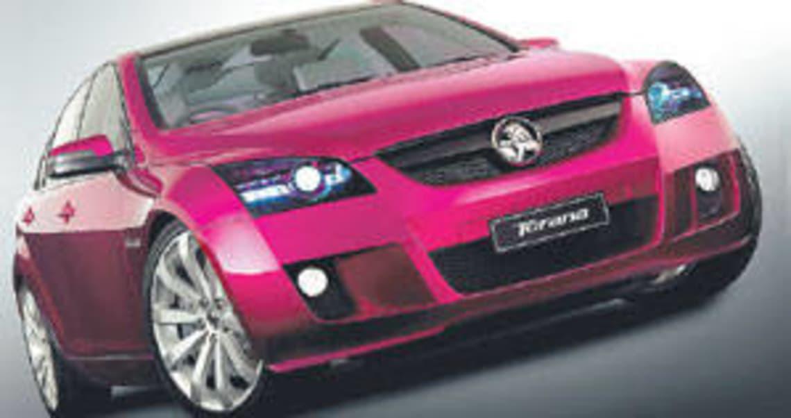 Torana concept car