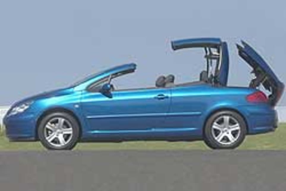 Peugeot 307 CC Dynamic 2004 review   CarsGuide