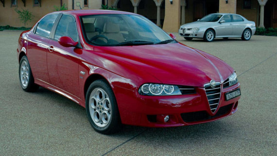 used alfa romeo 156 review 1999 2006 carsguide. Black Bedroom Furniture Sets. Home Design Ideas