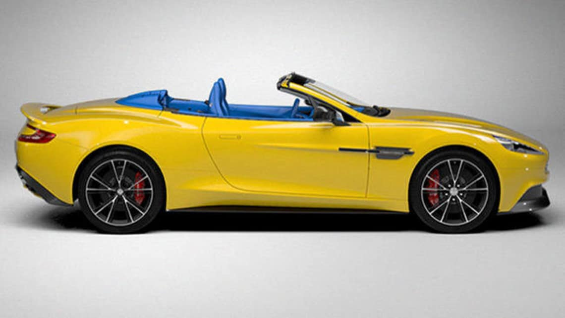 Build Your Own Aston Martin Vanquish Volante Online Car News - Build your own aston martin