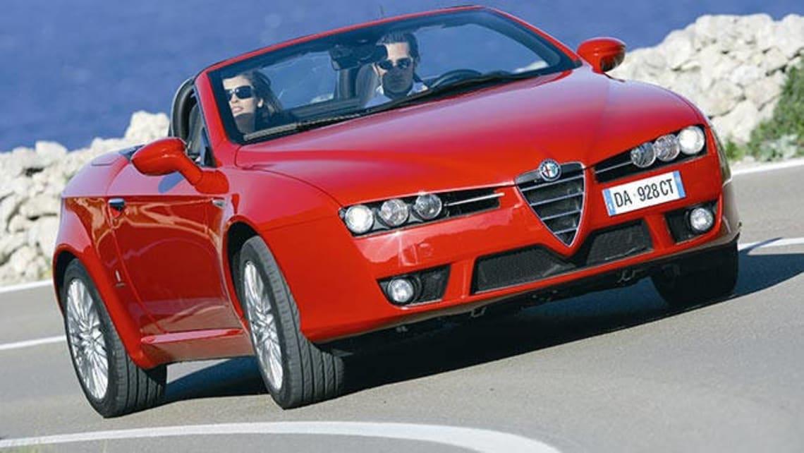 Used Alfa Romeo Spider Review CarsGuide - Used alfa romeo spider