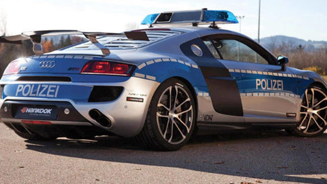 Audi R8 Gt R Fastest Police Car Car News Carsguide
