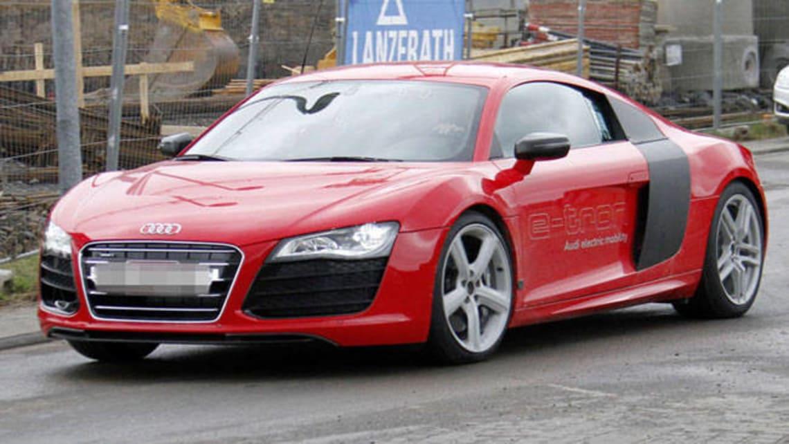 Audi R Etron Spy Shot Car News CarsGuide - Audi r8 e tron