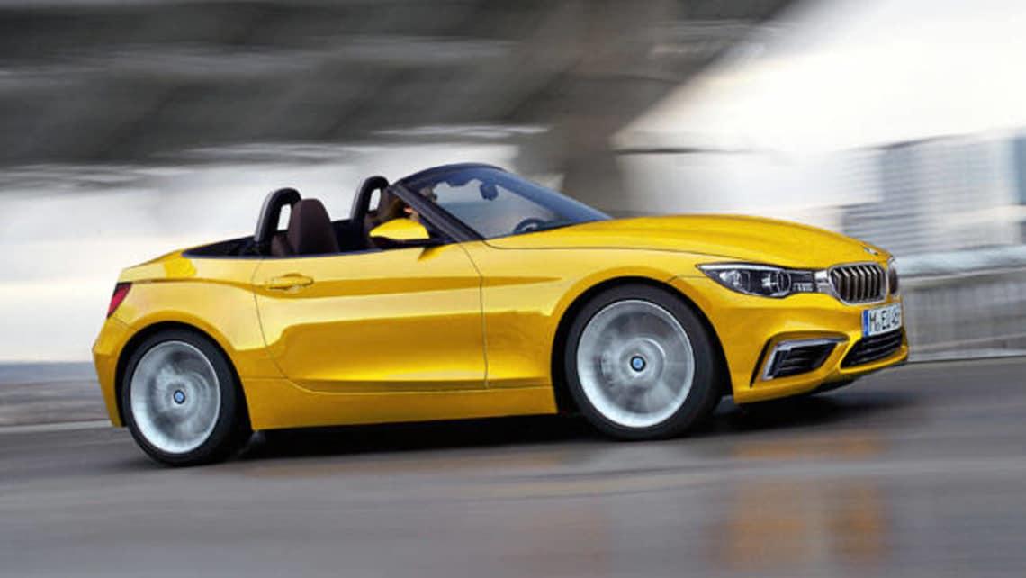 BMW Z2 spy shot rendering - Car News | CarsGuide