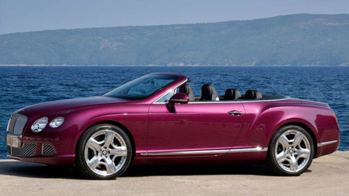 Bentley Continental GTC 2013 review