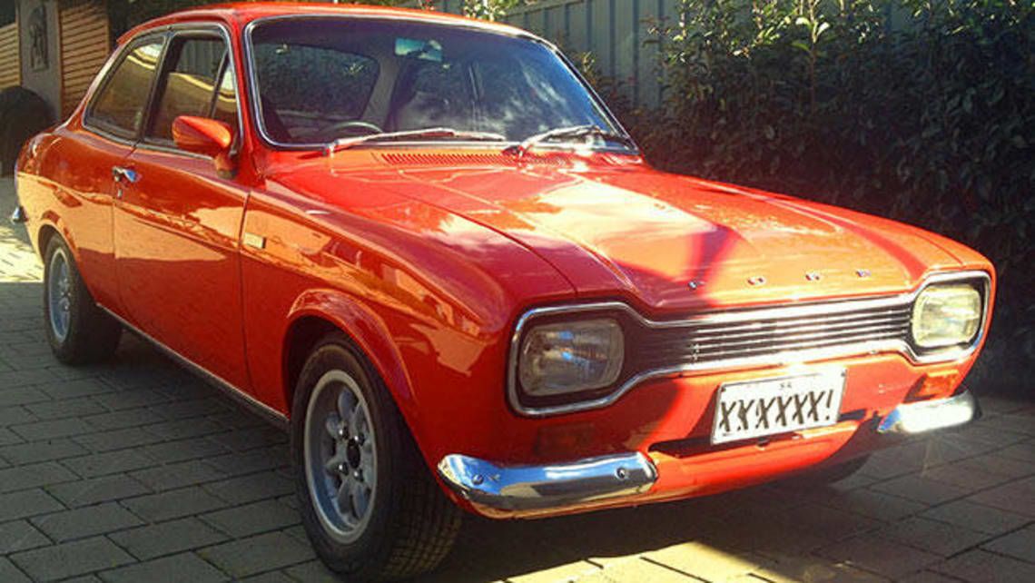 My 1972 Escort Gt 1600 Muscle Car Car News Carsguide