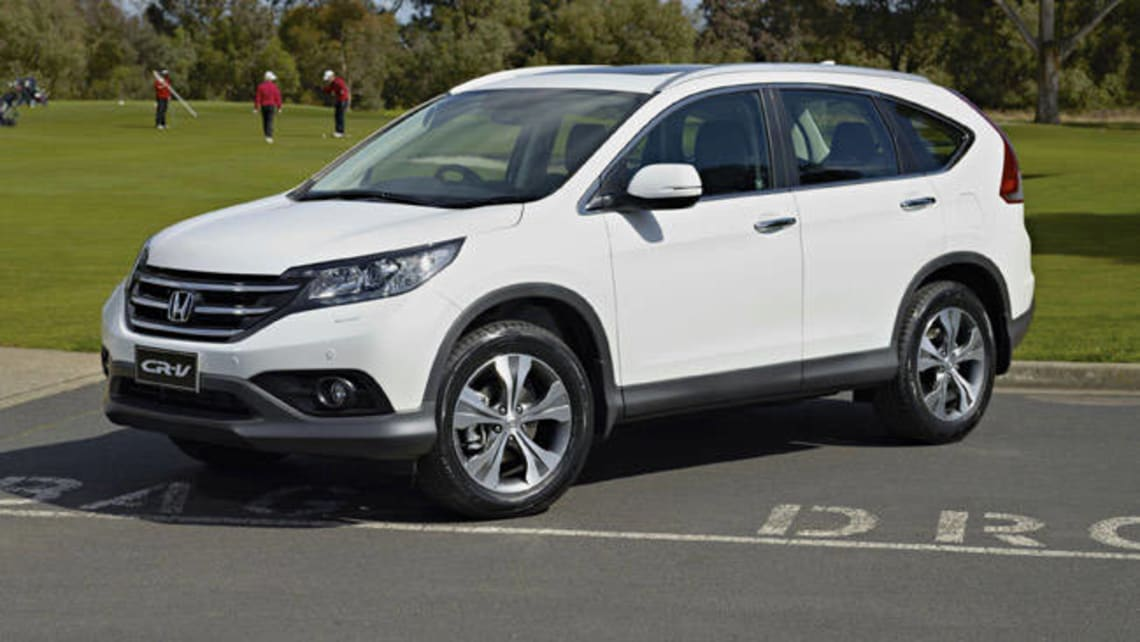 Honda CR V VTi L 2013 Review