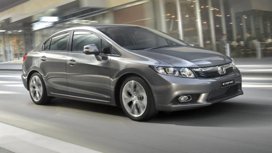 Honda Civic Sport Automatic 2012 Review